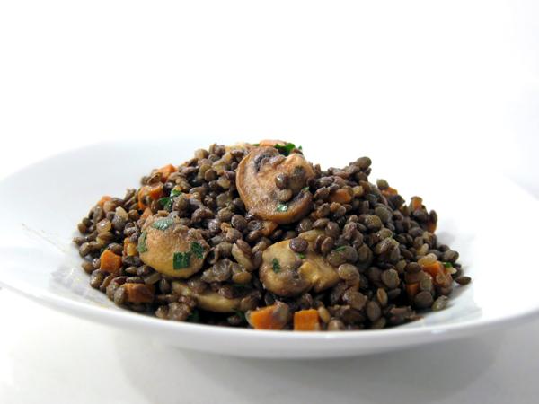 warm-lentils-mushrooms